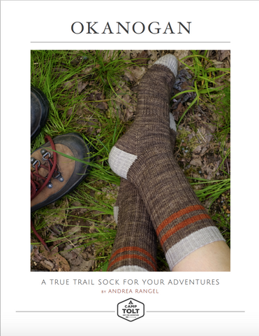Camp Tolt, Okanogan Sock Pattern, PDF Download