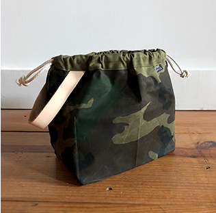 Fringe Supply Co., Waxed Canvas Field Bag