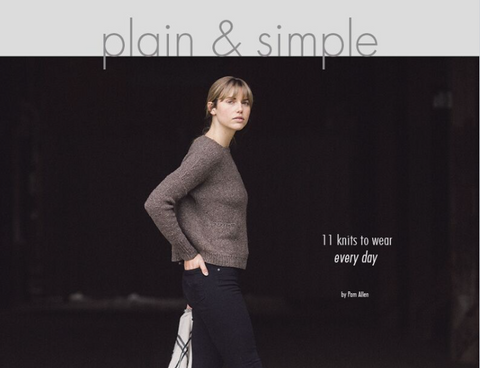 Plain and Simple, by Pam Allen, Quince & Co.