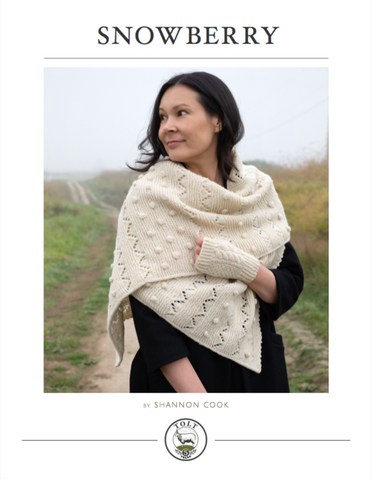 Snowberry Wrap and Cowl, PDF Download