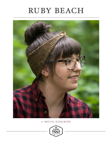 Camp Tolt, Ruby Beach Headband, Free PDF Download