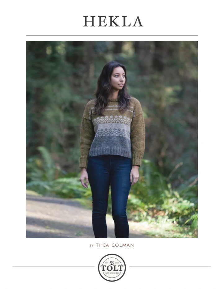 Hekla Pullover, PDF Download