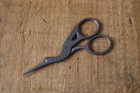 Dark Bronze Stork Scissors