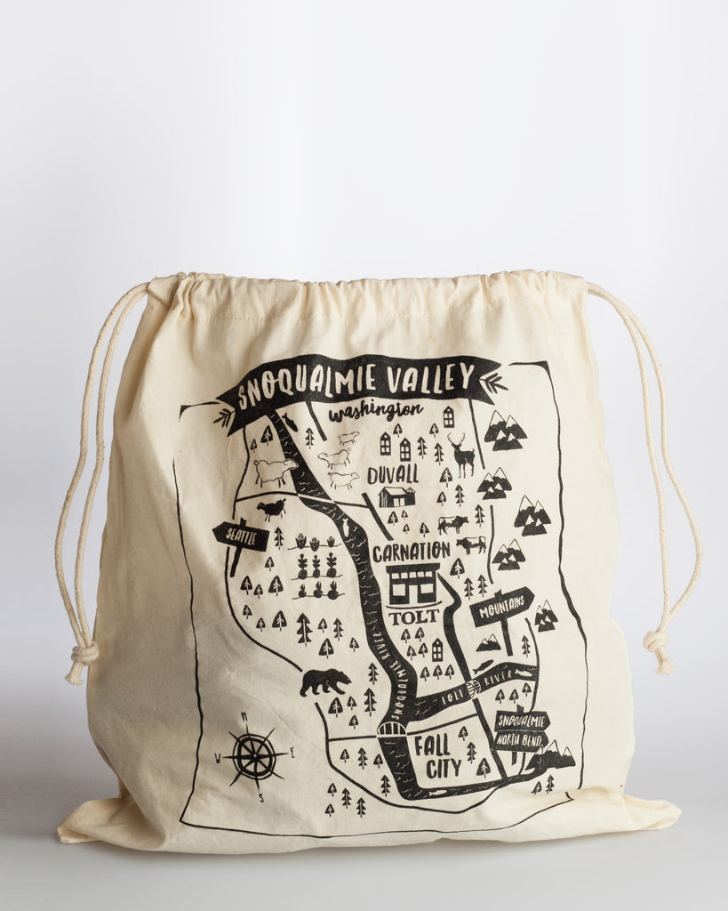 Tolt, Snoqualmie Valley Map Project Bag