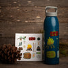 Camp Tolt Illustration Water Bottle