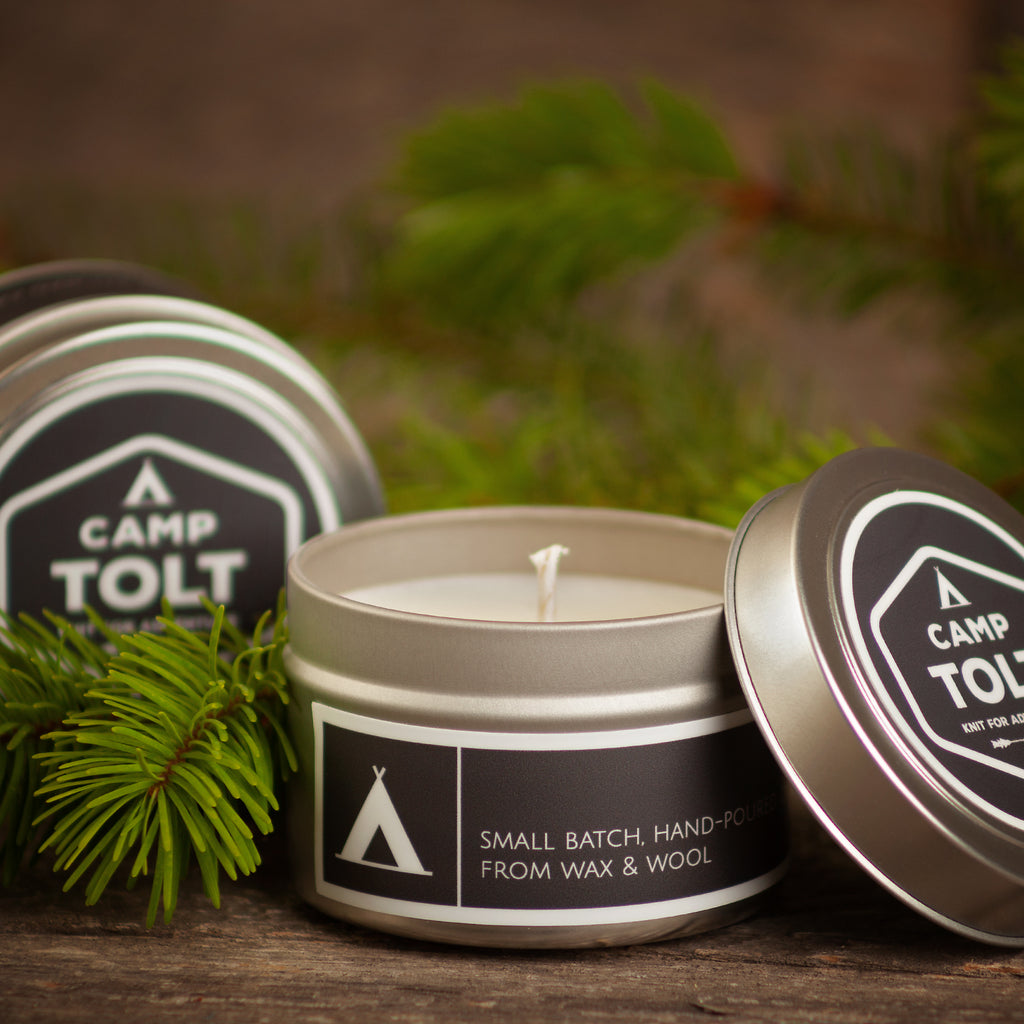 Camp Tolt Candle Tin