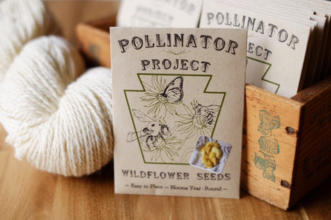 Pollinator Project, Dye Seed Packet