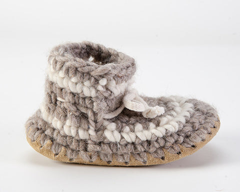 Padraig Cottage, Child Slippers, neutrals