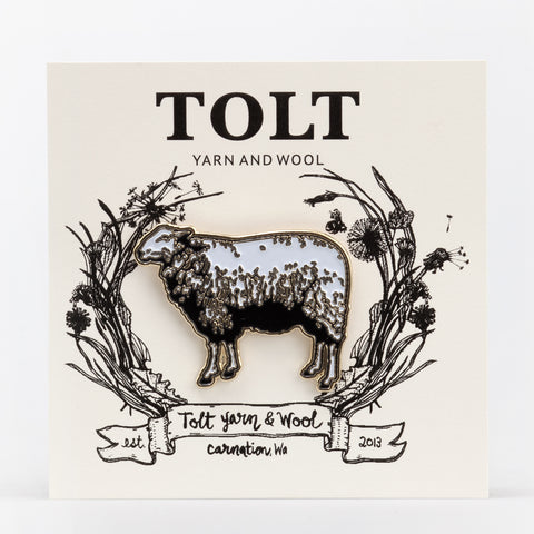 Tolt Enamel Sheep Pin
