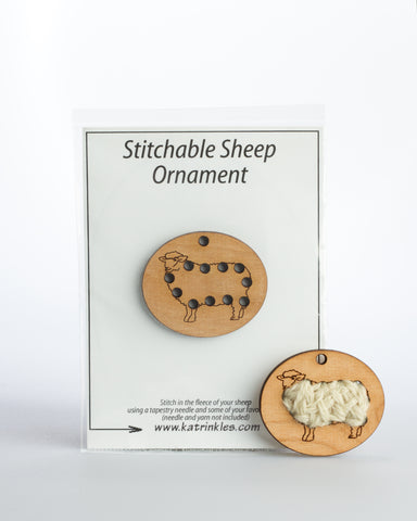 Katrinkles, Sheep Ornament