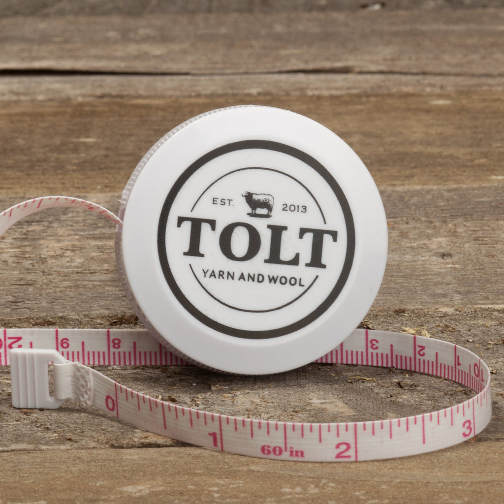 Tolt Imprinted Tape Measure