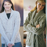020 Cable Wrap Cardigan