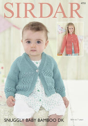 4733 Snuggly Baby Bamboo DK Leaflet