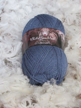 White Gum Wool Silk Merino 5 ply