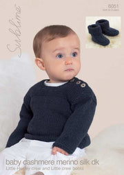 6051 Little Henley Crew and Little Crew Boots