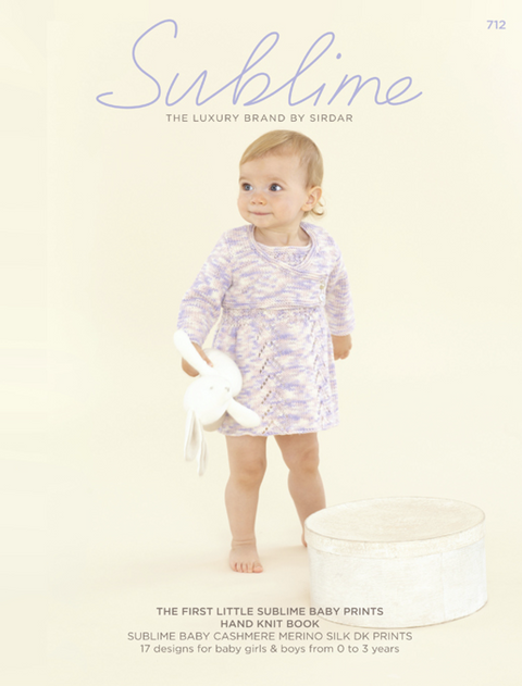 712 The First Little Sublime Baby Prints Hand Knit Book