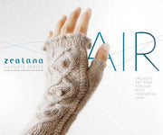 Air Lace Book - Mitts on cover