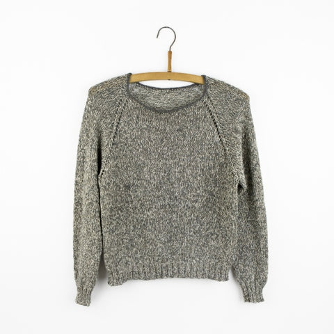 YO (Yarn Over) Raglan Blouse