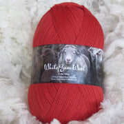 White Gum Wool 4 ply