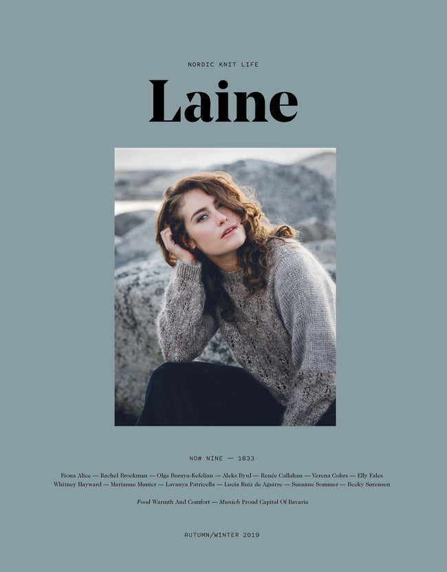 "Laine Magazine - Issue 9 ""1833"" - Autumn/Winter 2019"