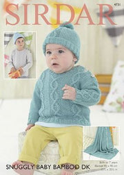 4731 Snuggly Baby Bamboo DK Leaflet *