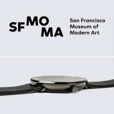 SFMOMA x VEJRHØJ watches
