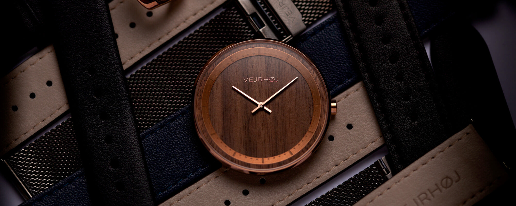 The rose wood watch