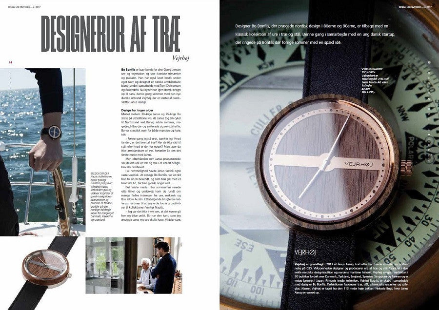 VEJRHØJ featured in Design Watches Jewellery