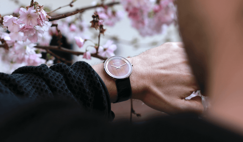 SAKURA wood watch