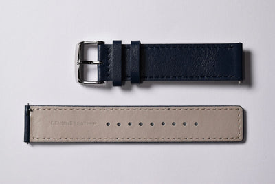 Midnight blue leather strap (ARCH).