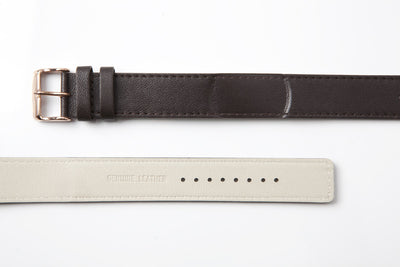 55º - Dark Brown Leather Strap