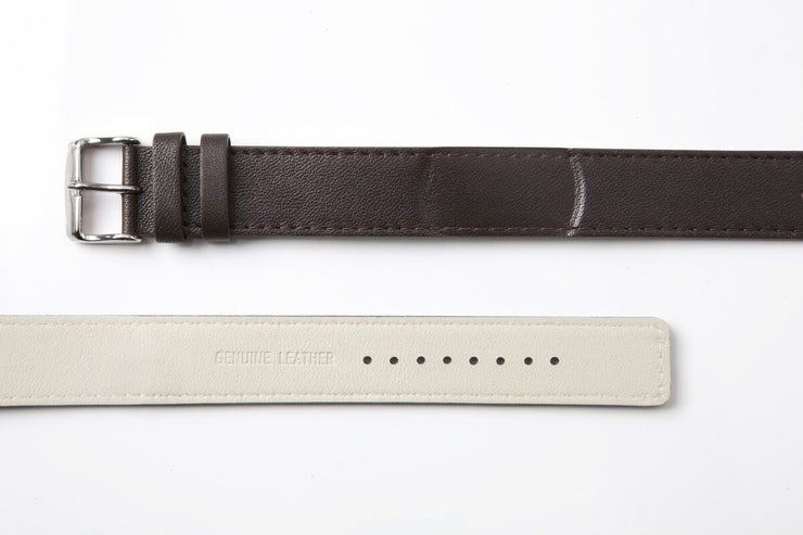 NAUTIC | Dark Brown Leather Strap