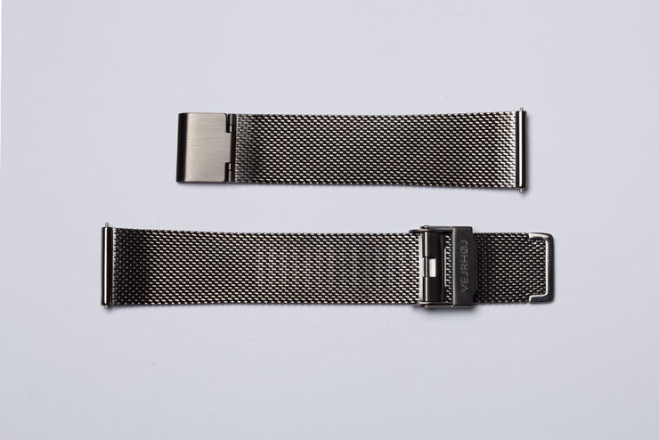 Gunmetal Mesh Band