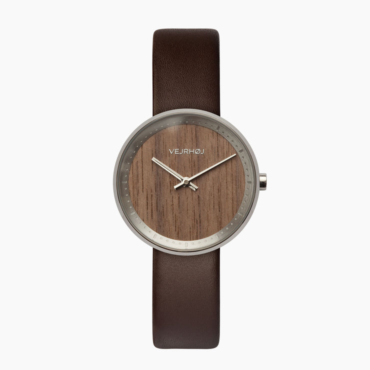 VEJRHØJ - women's small wooden watch