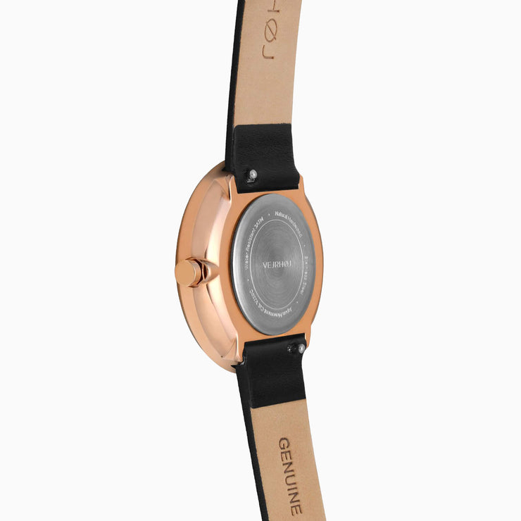 rose gold women's watch - VEJRHØJ
