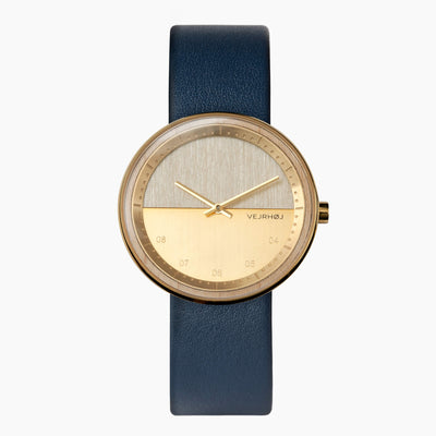 Wood watch - VEJRHØJ - The BLUE