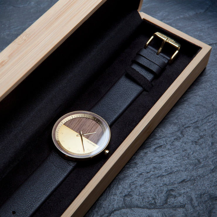 The GOLD wood watch