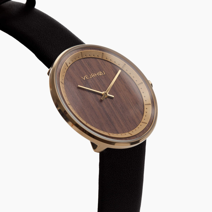 The SUN wood watch