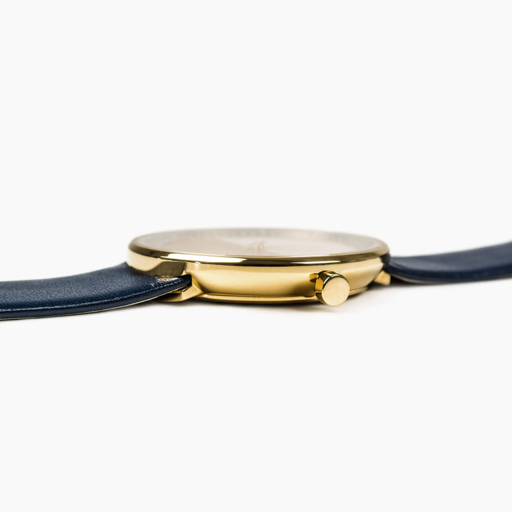 VEJRHØJ watch – The BLUE - thickness