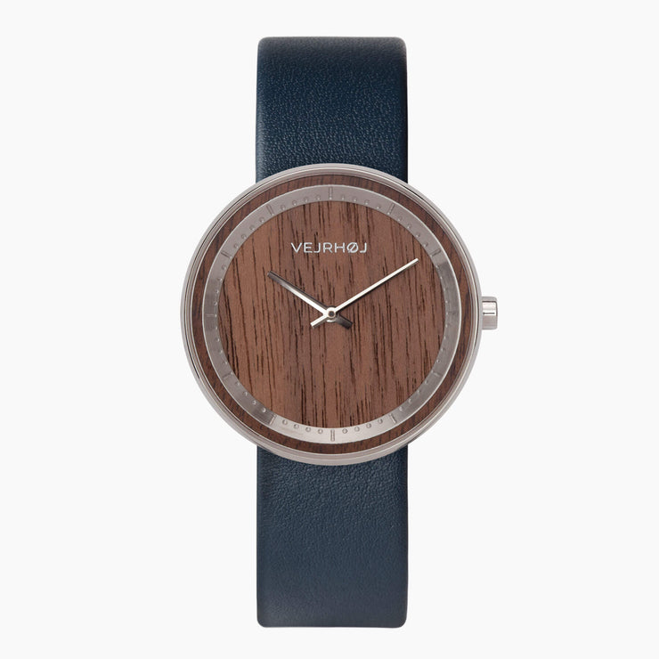 The STEEL - VEJRHØJ wood watches