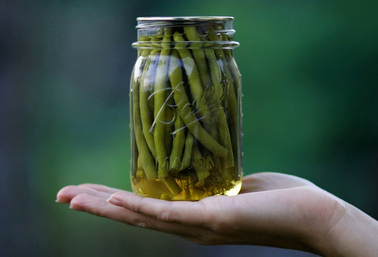 Simple Pickled Beans
