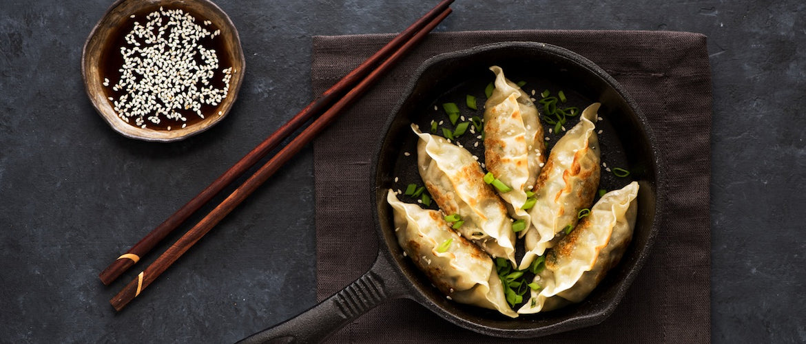 Zingy Ginger & Pork Pan-Fried Dumplings