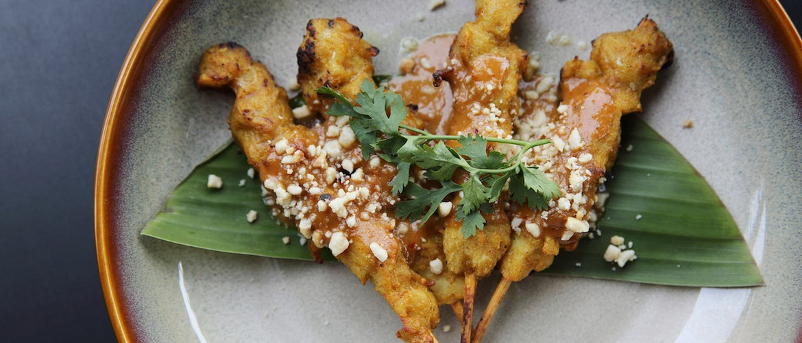 Traditional Satay Chicken Skewers