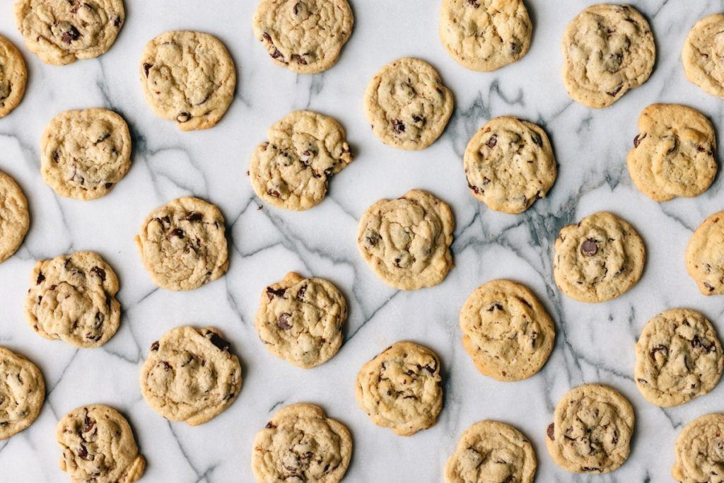 Peanut Butter & Choc Chip Cookies