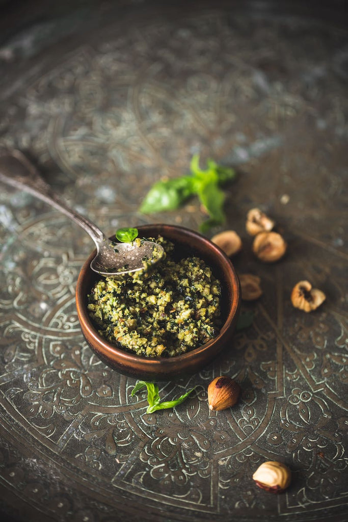 Hazelnut Pesto