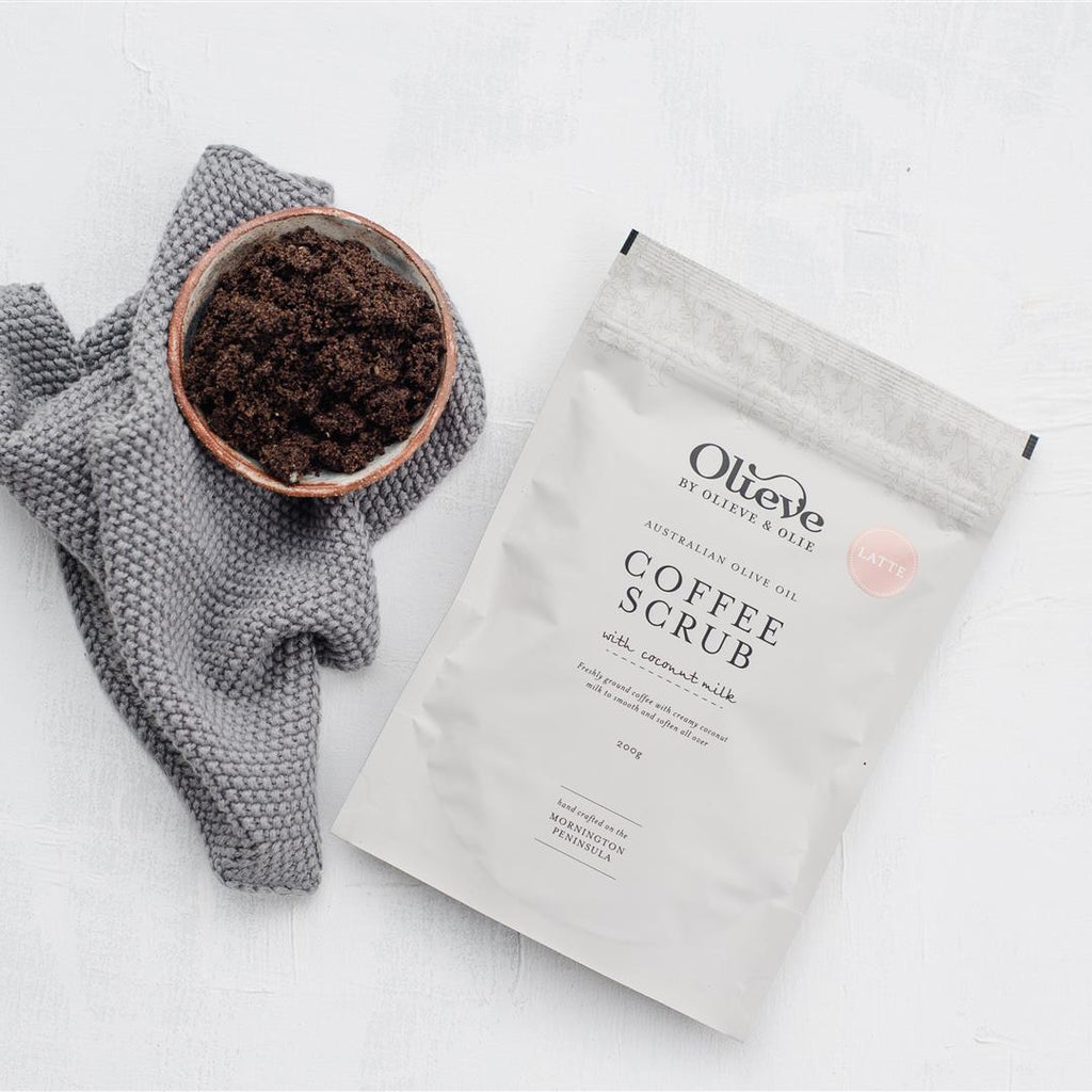 Olieve & Olie - Luxurious Coffee Scrub