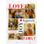 Personalized Custom Name Photo Love Joy Happiness 6 Photos Collage Throw Blanket
