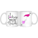 Personalized Fucking Miss You Bitch Mug, Custom Name Long Distance United States Gifts For Best Friend Women Sister. State Heart Connect Gift On Birthday Christmas Graduation - 11 oz