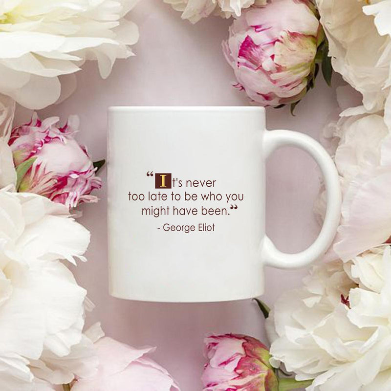 34 Quotes Personalized Coffee Mug - The Coffee Mug Gift For Special Occations - Gold Design Mug - YehGift