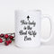 Coffee Mug - Best Wife Ever Mug - Top Anniversary or Xmas Present or Unique Christmas Gifts for Wife, Women, Her, Newlywed, Mrs - 15 Ounce Coffee Mug
